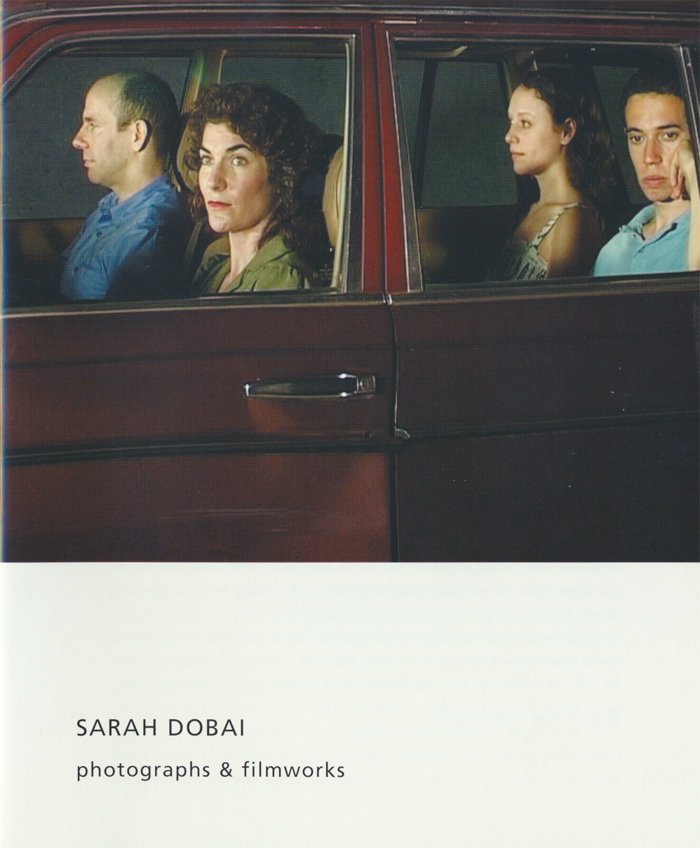 SARAH DOBAI, Photographs & Film Works, Kettles Yard, Introduction Page 1, 2006